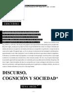 Discurso Cognicion y Sociedad (1)
