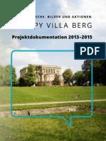 Occupy Villa Berg - Projektdokumentation 2013-2015