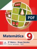 Libro Zaculeu Matemática 1er. Semestre
