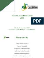 Anuario Asamblea Comisión Nacional de Cooperativas de Ahorro y Crédito de Puerto Rico [abril 2010]