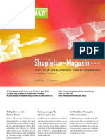 Shopleiter Magazin Nr. 1 - April 2010 :