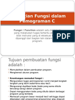 Pengertian Fungsi Dalam Program