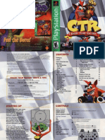 CTR Crash Team Racing - Manual - PSX