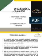 Ismael Plascencia Nuñe - Resumen completo de actividades al frente de CONCAMIN