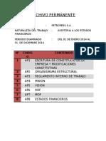 Archivo Permanente Auditoria