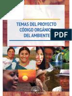 Folleto Consulta prelegislativa Código del Ambiente