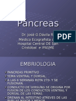 ULTRASONIDO Y PÁNCREAS