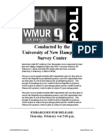 CNN WMUR Poll New Hampshire 2-4-16