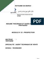 Module 16 La Prospection