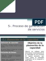 Proceso de Generación de Servicio