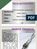 MARCO TEORICO Point Sensor Oxigeno