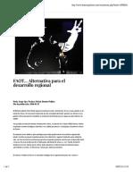 25-01-16 FAOT... Alternativa Para El Desarrollo Regional - Dossierpolitico