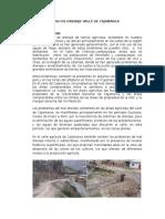 Estudio de Drenaje Valle de Cajamarca