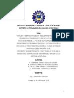 Proyecto Analisis de Sistemas