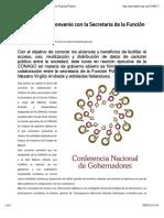 25-01-16 CONAGO firmo convenio con la Secretaría de la Función Publica. Asisucede