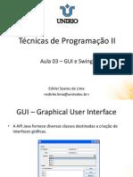 Java GUI e Swing