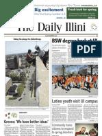 The Daily Illini - Monday, April 12, 2010