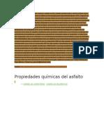 Ropiedades Del Asfalto