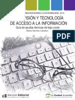 Baja Visión y Tecnología de Acceso a La Información