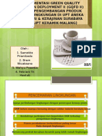 Implementasi Green Quality Function Deployment II (Gqfd