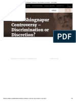 Shani Shingnapur Controversy – Discrimination or Discretion_ - The Isha Blog