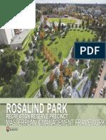 Rosalind Park Precinct Master Plan