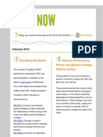 February 2016 NGSS NOW Newsletter