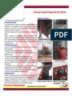 Avance Inspeccion Estatus Sistema Uvir Plantas Compresoras Pdvsa Gas