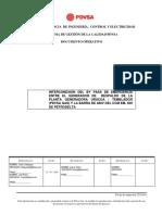 Informe Interconeccion Planta Generadora Uracoa