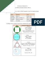 Pre- informe e informe de programación