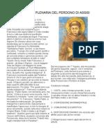 Indulgenza Plenaria Del Perdono Di Assisi