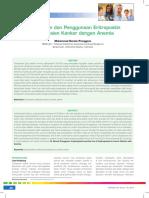 07_224Eritropoetin Dan Penggunaan Eritropoetin Pada Pasien Kanker Dengan Anemia