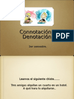 Connotacion y Denotacion