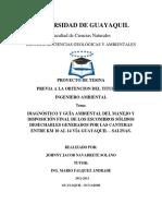 Diagnóstico y Guía Ambiental Del Manejo y Disposición Final de Los Escombros Sólidos Desechables.... Navarrete, Johnny (1)