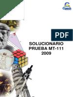 Solucionario Pruebas Cursos Anuales - Geometria 2009