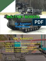 Military Robots Raaghav
