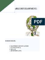 Sustainable Development.doc of Monday