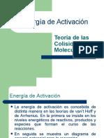 Energía de Activación