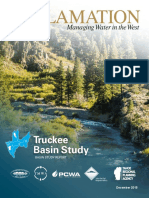 The Truckee River Basin Study