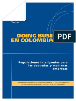 Doing Business 2013 Colombia Spanish