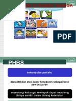 Juknis PHBS Rumah Tangga