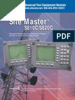 Anritsu S810C-S820C Brochure