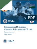 Ics - Introduccion Al Sistema de Comandos de Incidentes - g.i.