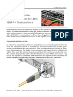 Fiber Patch Cable Selection Guide for 40G QSFP+ Transceivers