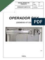 Operador Pax elevador otis