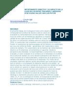 Factores Del Comportamiento Directivo y Su Impacto en La Cultura de Calidad en Las Micro, Pequeñas y Medianas Empresas de Ciudad Valles, San Luis Potosí