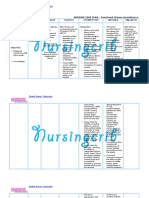 Nursing Care Plan for Functional Urinary Incontinence NCP
