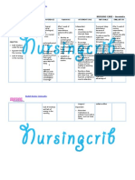 Nursing Care Plan for Insomnia NCP
