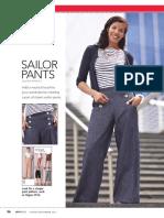 Pattern Play - Sailor Pants