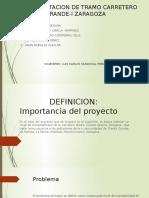 REHABILITACION DE TRAMO CARRETERO PIEDRA GRANDE-I ZARAGOZA-INSTITUTO TECNOLÓGICO SUPERIOR DE MISANTLA